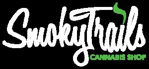 smoky trails cannabis shop logo