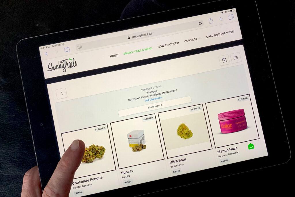 online cannabis shop