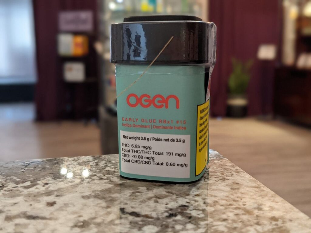 OEGN early Glue